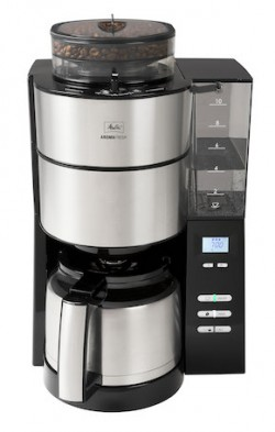 Melitta AromaFresh Therm, la cafetière qui moud, filtre et garde le café au chaud