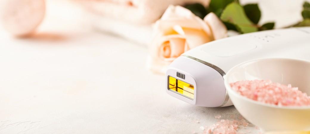 Lumière pulsée, épilation indolore pour peau durablement douce