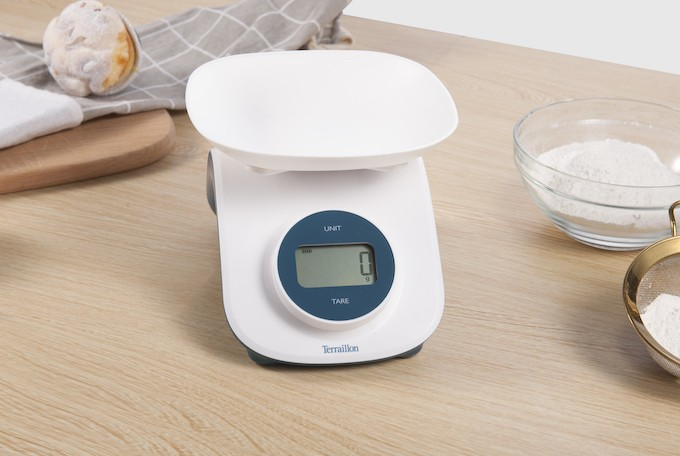 Terraillon Dynamo Curve et Glass, les balances de cuisine sans piles