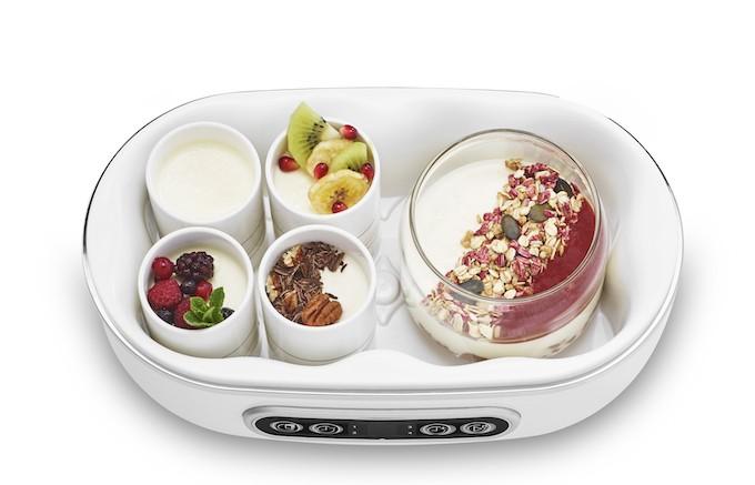 Siméo YVA640, la yaourtière pour desserts en mode lacté mais aussi végétal