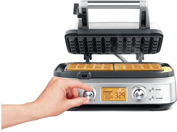 Sage Smart Waffle Pro, pour faire des gaufres bien dorées