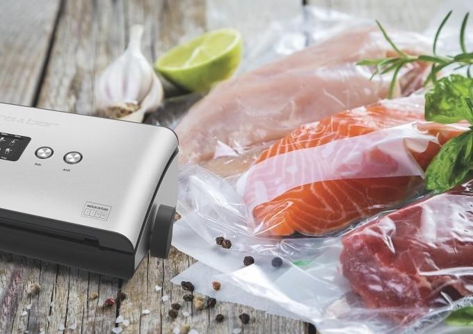 Machine de mise sous vide, pour préserver plus longtemps les aliments et les savourer différemment