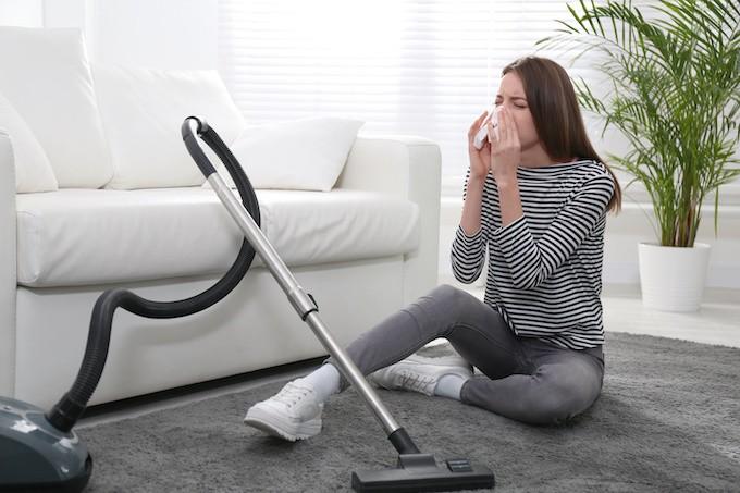 Hygiène et allergies :  bien aspirer pour mieux respirer chez soi
