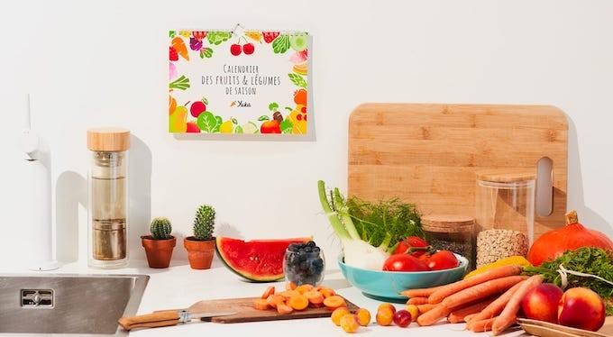Le calendrier des fruits et légumes de Yuka, pour une bonne et saine année