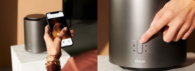 Duux ThreeSixty, un chauffage compact et connecté pour petits espaces