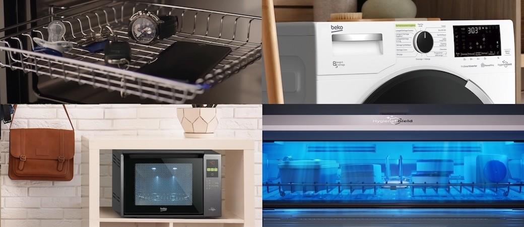 La gamme HygieneShield de Beko, 6 appareils pour désinfecter toute la maison.