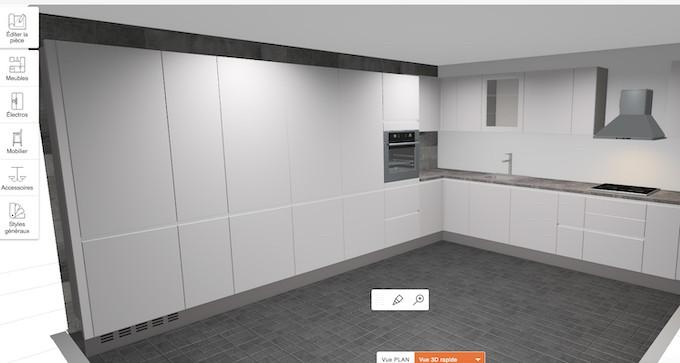 Concevoir sa cuisine en ligne, de l'écran à la réalité