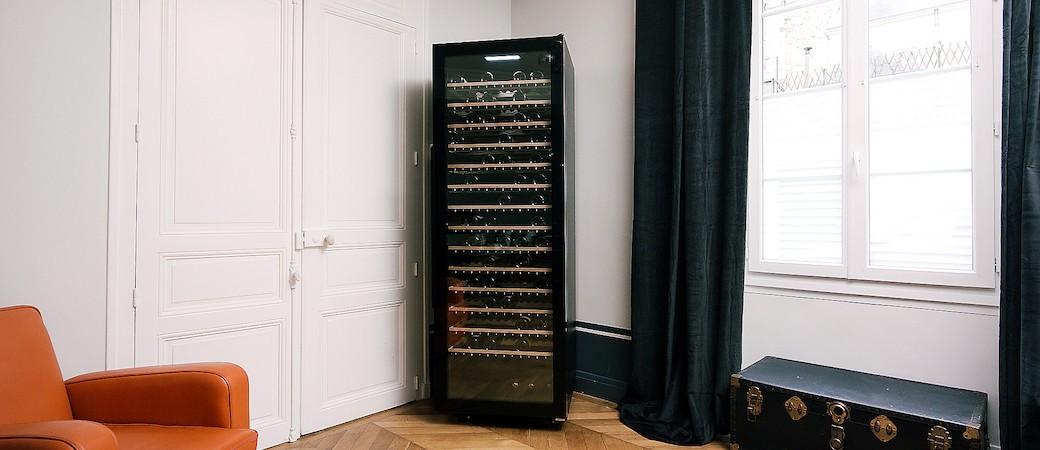 La Sommelière ECELLAR185, première cave à vin connectée au monde