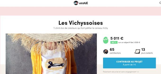 Les Vichyssoises, quand le  motif Vichy se porte durable et équitable
