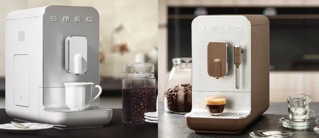 Machines à café Smeg BCC01 et BCC02, pour sublimer et déguster son café quotidien