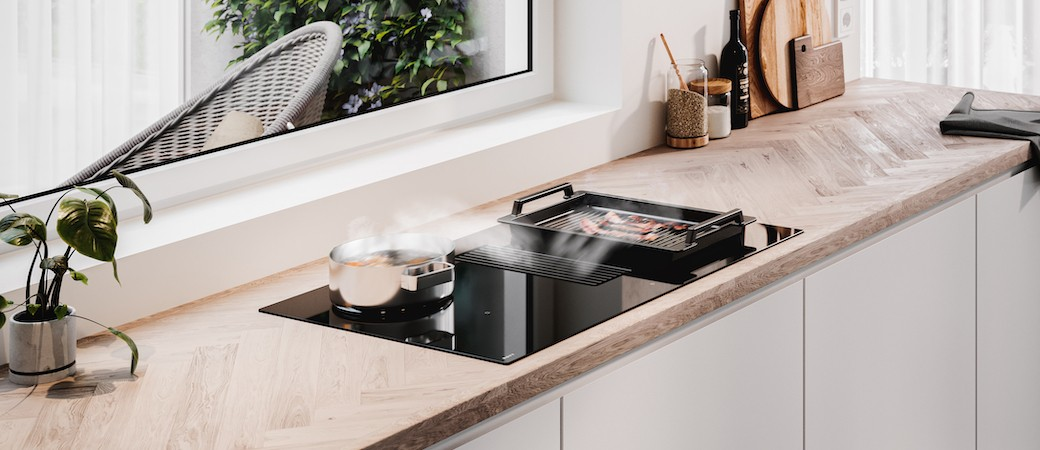 Novy Easy : cuisson, aspiration et simplification réunies en une seule table
