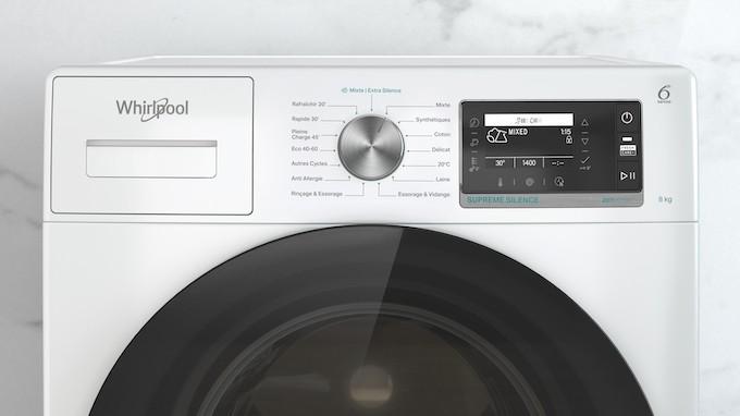 Lave-linge Supreme Silence : Whirlpool poursuit sa révolution silencieuse