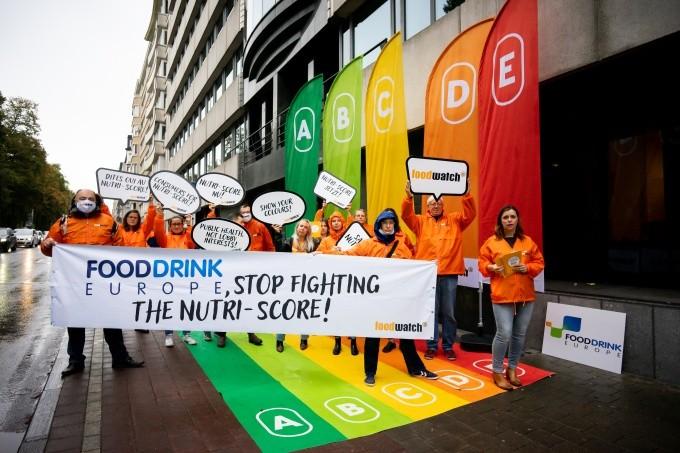Affichage du Nutri-Score : foodwatch élève la voix face à l'industrie alimentaire