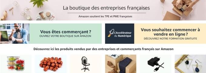 Amazon ouvre sa boutique en ligne dédiée au « Fabriqué en France »